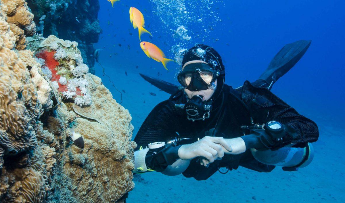 Sidemount Diver, Koh Chang, Thailand