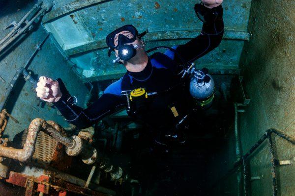TDI Adbanvced Wreck Diver, Koh Chang, Thailand