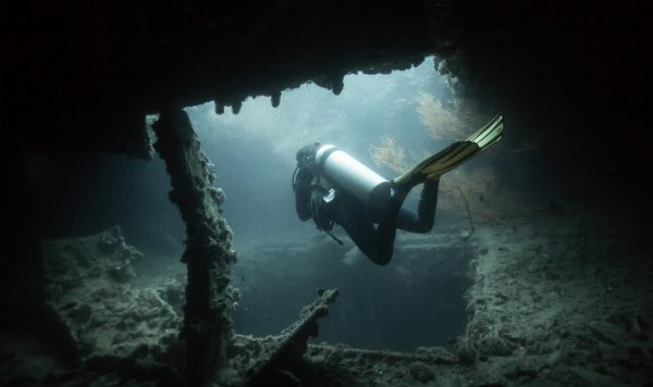 Wreck Diver, Koh Chang, Thailand