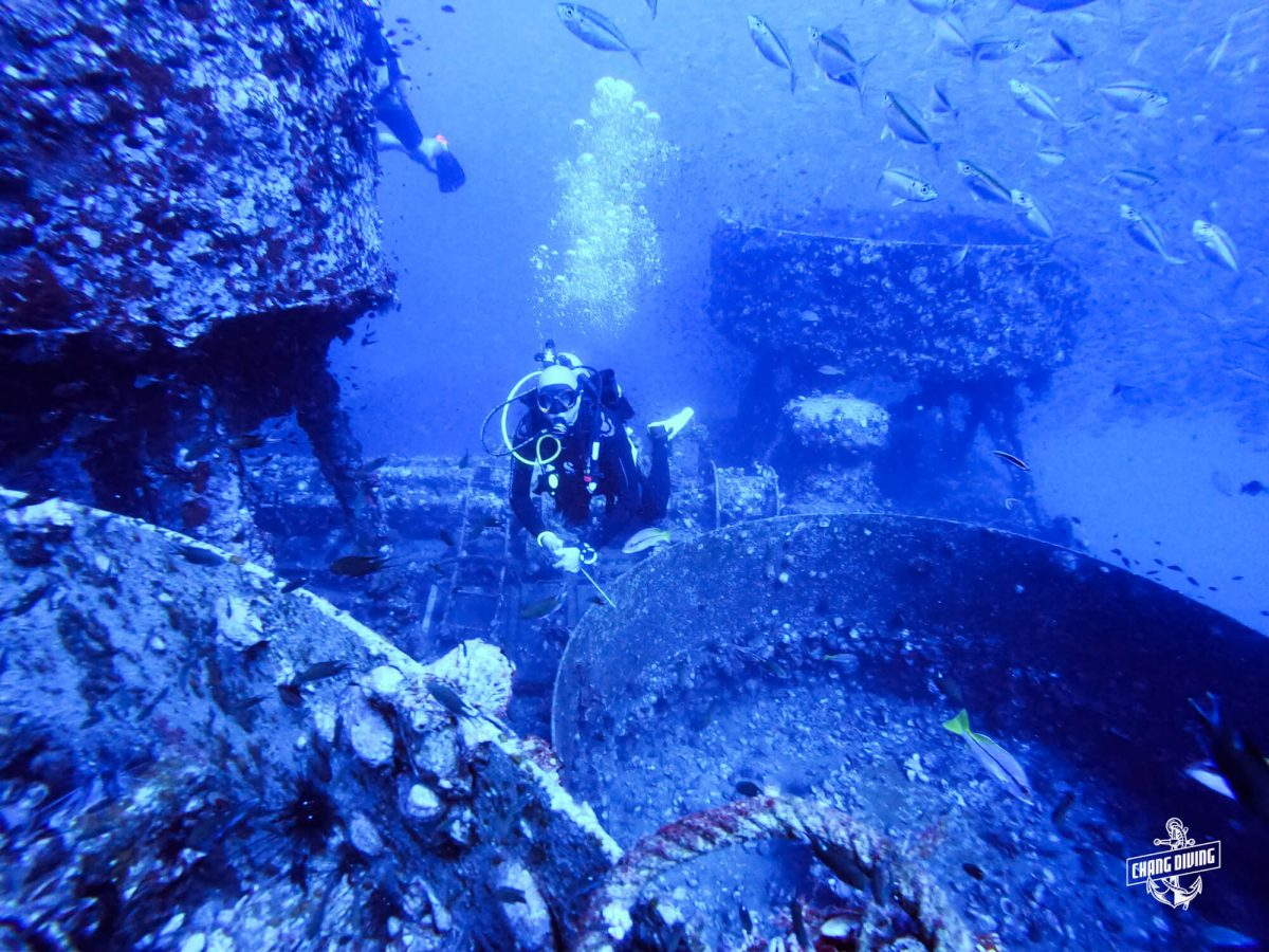 Wreck Diving Koh Chang Thailand